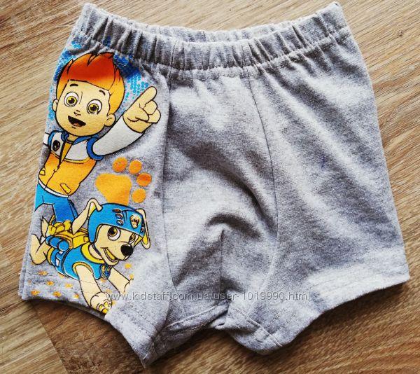 детские трусы боксеры на мальчика Собачий Патруль