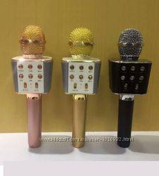 Супер звук Микрофон-Караоке Bluetooth Wster WS-1688 USB AUX