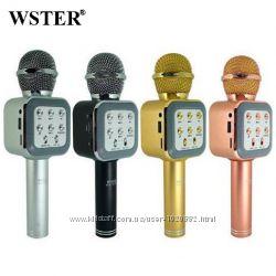 Беспроводная колонка - микрофон караоке Wster WS-1818  Бестселлер продаж