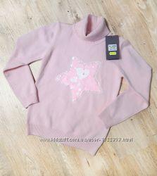 Розовый свитерок со звездой с бисера
