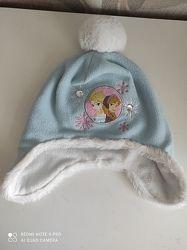 Теплая шапка George с героями Холодное сердце, размер 4-8 лет