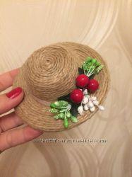 шляпки и украшения для волос