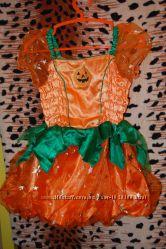 Платья новогодние для девочек 2-5 лет рост 86-104 бу в отличном состоянии