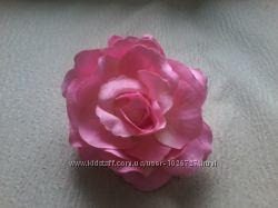 Новая заколка Роза 10см
