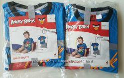 Пижама, комплект футболка  шорты Lupilu для девочек и мальчиков