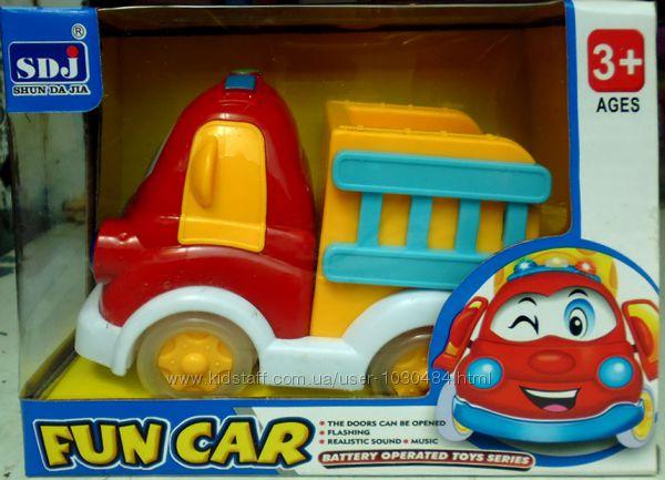 Музыкальная игрушка машинка 129.