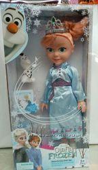 Кукла 8214 2 муз, олаф, расческа, в кор. 18 x 8 x 37 см