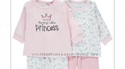 Пижама для девочки George рост 80-86 см 12-18 мес цена за набор из 2 шт