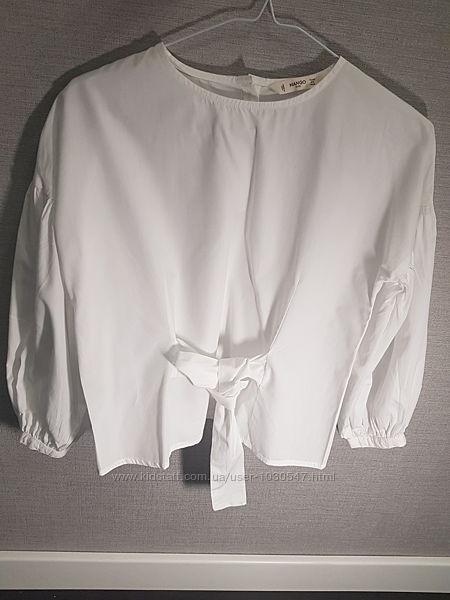 Белая блузка в школу MANGO Massimo Dutti 9-10 лет 140-146 см