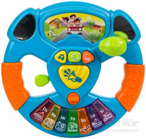 маленький водитель bebelino руль детский я рулю