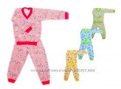 Детская пижама на байке в садик и дома для детей от 2 до 10 лет, 2834