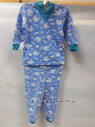 Пижама Котики для мальчика, синяя, 2834