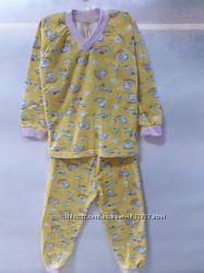 Детская хлопковая пижама для девочки и мальчика, 2834