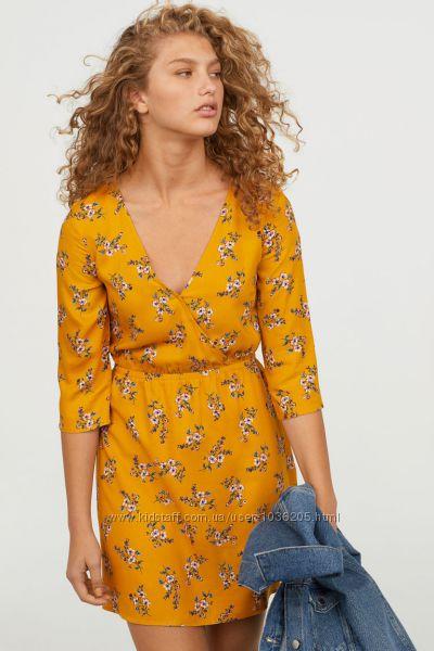 Платье с цветочным принтом, 46-48, M-L