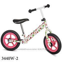 Беговел Профи 3440W детский велобег 12 дюймов Eva колеса Profi Kids