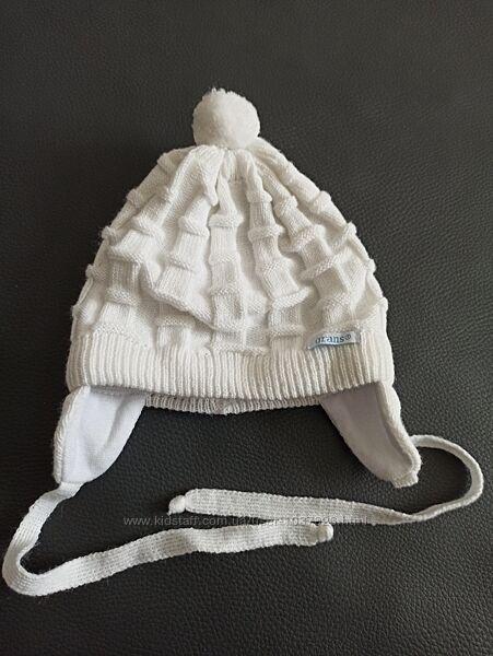 Теплая шапочка состояние нового