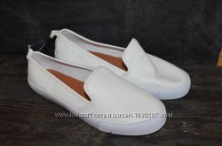 Белые мокасины h&m 35