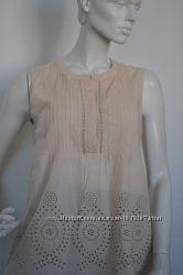 Блуза хлопковая H&M, M