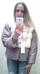 Норковая куртка автоледи Жемчуг. размер 42-44-46