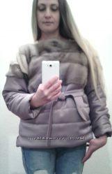 РАСПРОДАЖАНорковая куртка-автоледи-свитшот р. 40-42-44.