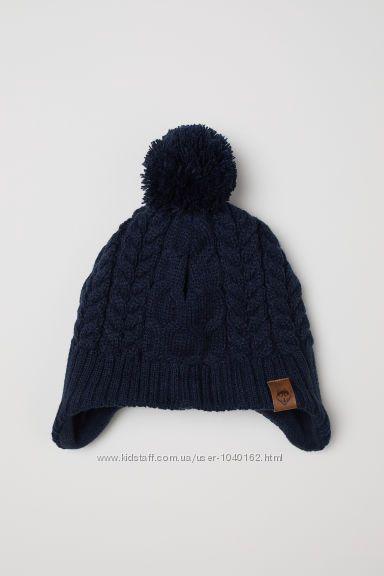 Зимняя шапуля НМ  на флисе 3-5 лет