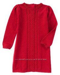 Свитерное платье красное 2Т крейзи 8 crazy8