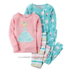 Пижамы картерс carters принцессы 3Т