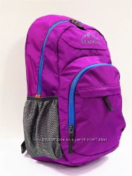 Красивый легкий прочный спортивный рюкзак сиреневый