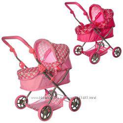 Высокая детская коляска для кукол Melogo 9680 70см