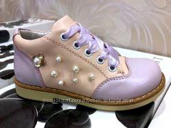 Кожаные ортопедические туфли Fess