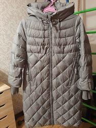 пальто зимнее биопух
