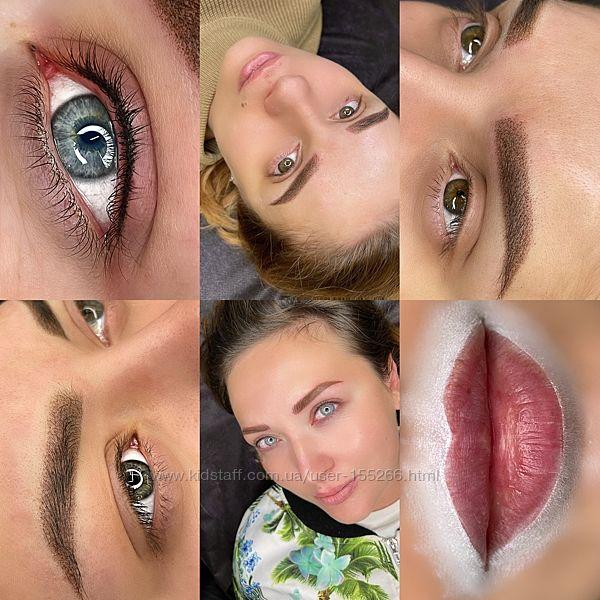 Модель Перманентный макияж брови, губы, межресничка Виноградарь