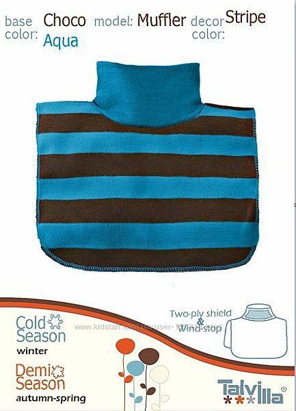 Манишки темно-синие для детей и взрослых