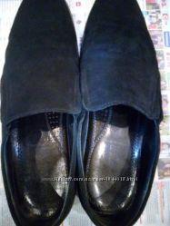 Туфли мужские натуральная замша
