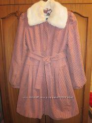 Стильное зимнее пальто размер 38