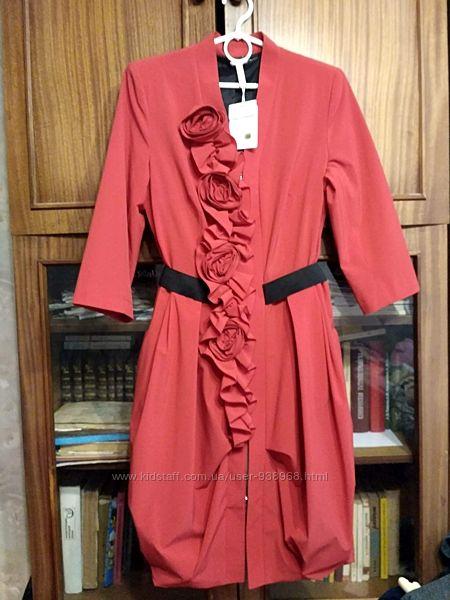 Гламурное платье-плащ Inter Style размер 38