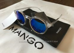 Новые солнцезащитные очки Mango круглой формы