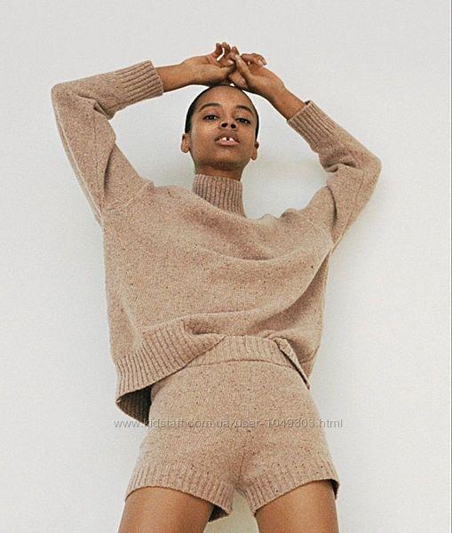 Шерстяной свитер Zara