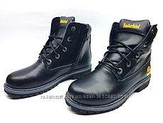 Детские зимние ботинки Timberland кожа, нубук