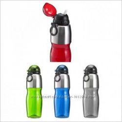 Спортивная бутылка для воды 800 мл, цвета в ассортименте