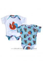 Набор детской одежды Лисички Мамин Дом 56-80 см
