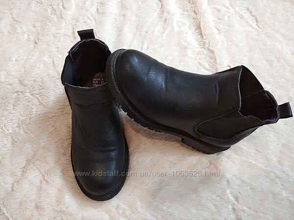 Ботинки демисезонные на девочку 27 размер