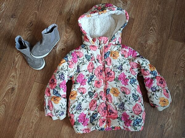 Куртка демисезонная для девочки Nutmeg на 3-4 года