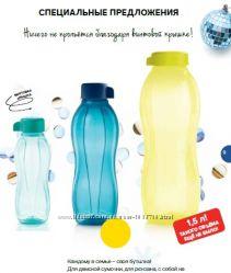 Эко-бутылка Tuperrware в ассортименте - 0, 31 -  0, 5-0, 75-1-2 литра.