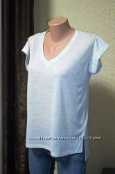 Летняя футболка свободного кроя. Размер 40 - 42