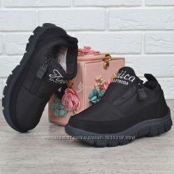 8e4d48231 Дутые женские ботинки на платформе Sport Moda черные на молнии, 499 ...