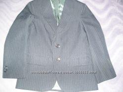 Качественный пиджак public notices 7-8 лет 122-128 см