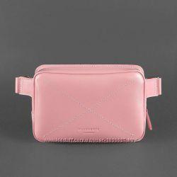 Кожаная поясная сумка DropBag женская