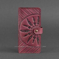46466c87c4cd Кошелек Инди женский кожаный красивый большой для девушки на подарок ...