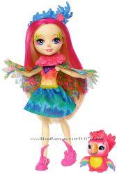 Кукла Enchantimals Пикки Какаду Peeki Parrot Doll & Sheeny Энчантималс